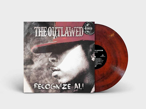 Recognize Ali 'The Outlawed' lp LAVA VINYL!!!  NOW SHIPPING!