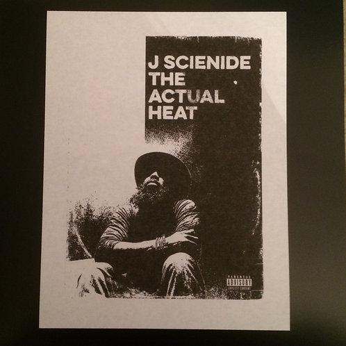 J Scienide - The Actual Heat LP!!  TEST PRESSING!