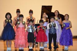 2015ピティナピアノコンペティション本選出場者(欠席者あり)