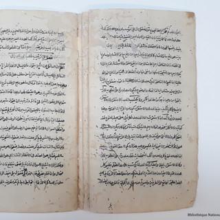 Manuscrit persan