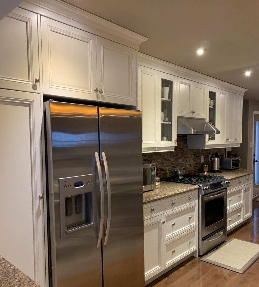 White Dove Kitchen Cabinets
