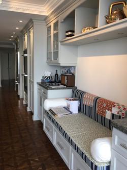 Stonington Grey Condo Cabinets