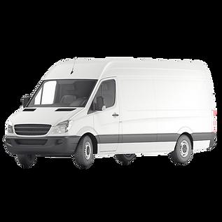 large white van