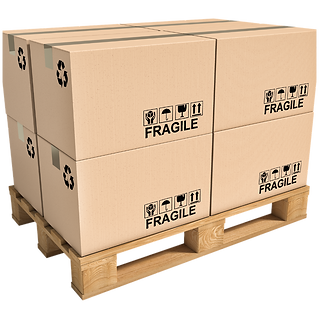 Boxes on a pallet