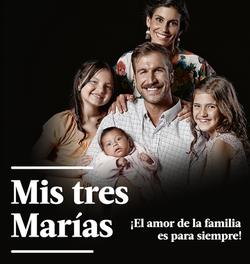 MIS TRES MARÍAS- NOVELA