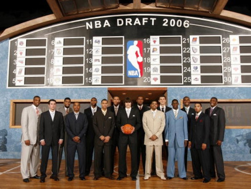 My Past Life as a Sports Agent: The 2006 NBA Draft