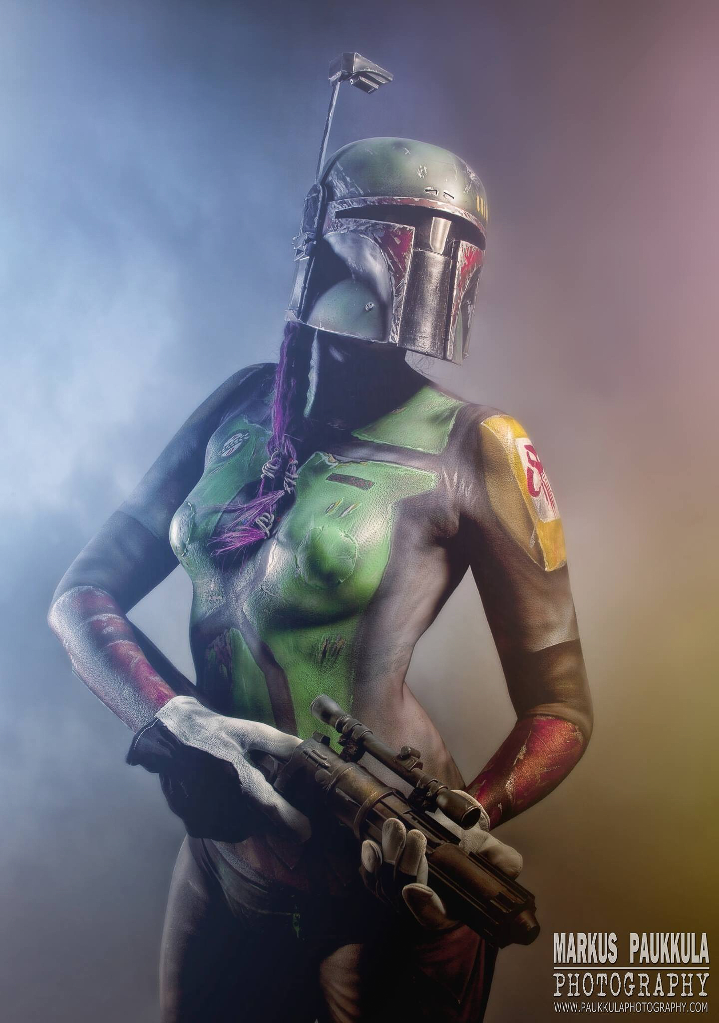 Boba Fett - body paint
