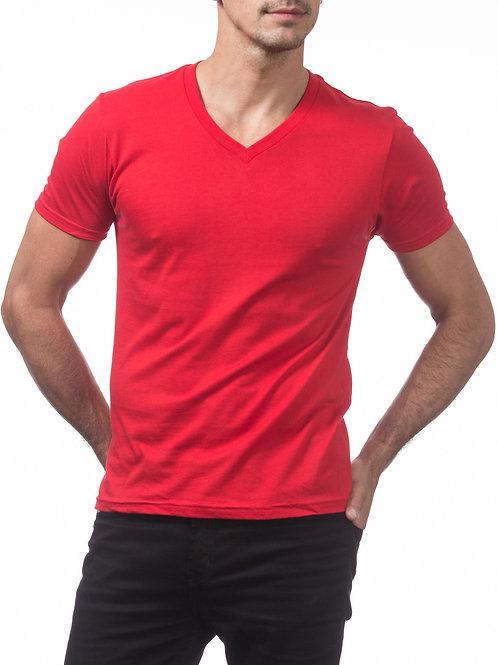 Proclub Short Sleeve V-Neck Comfort T-Shirt