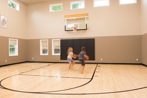 Indoor Basketball Court Addition
