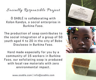 Exfoliating soap - no microbeads