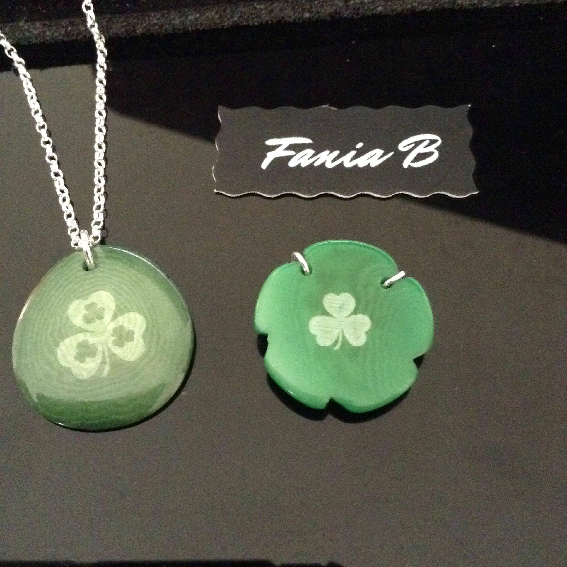 Clover pendants