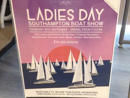 Ladies Day: Southampton International Boat Show