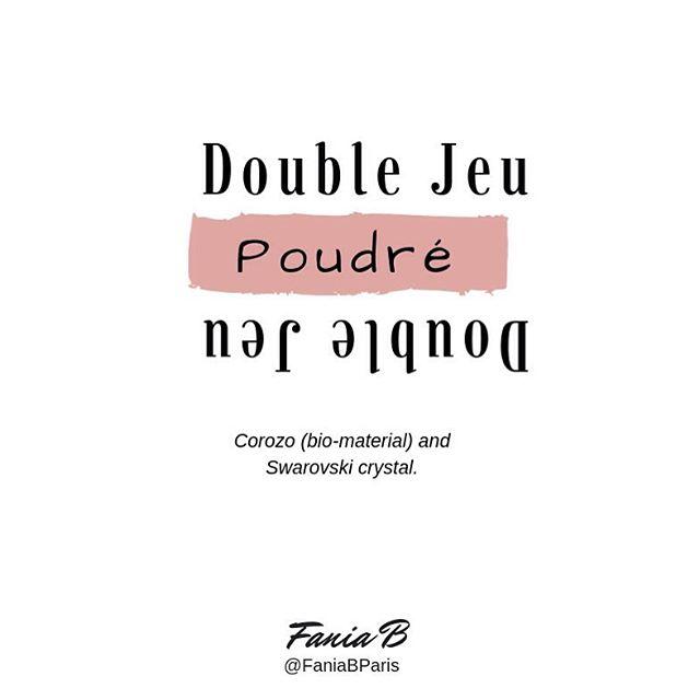 Double Jeu _poudré_2 in 1 pendant