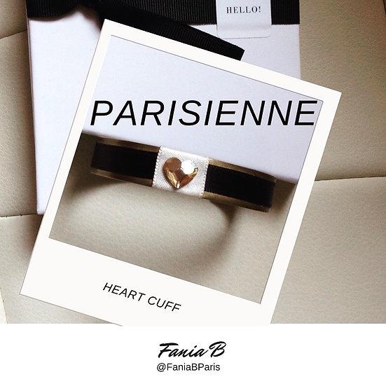 Fania B - Heart Cuff
