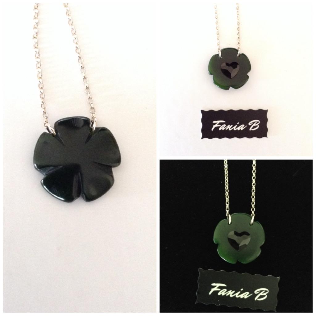 Double Jeu dark green