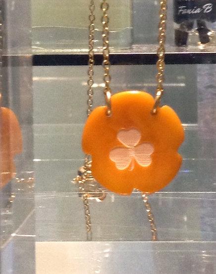 Clover pendant - Flower