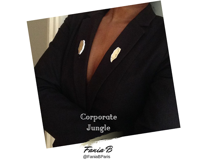 Corporate Jungle - Set of Brooches