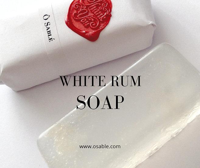 White Rum - Apothecary Soap