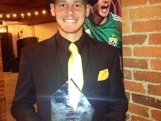Lampson named Columbus Crew Humanitarian of the Year