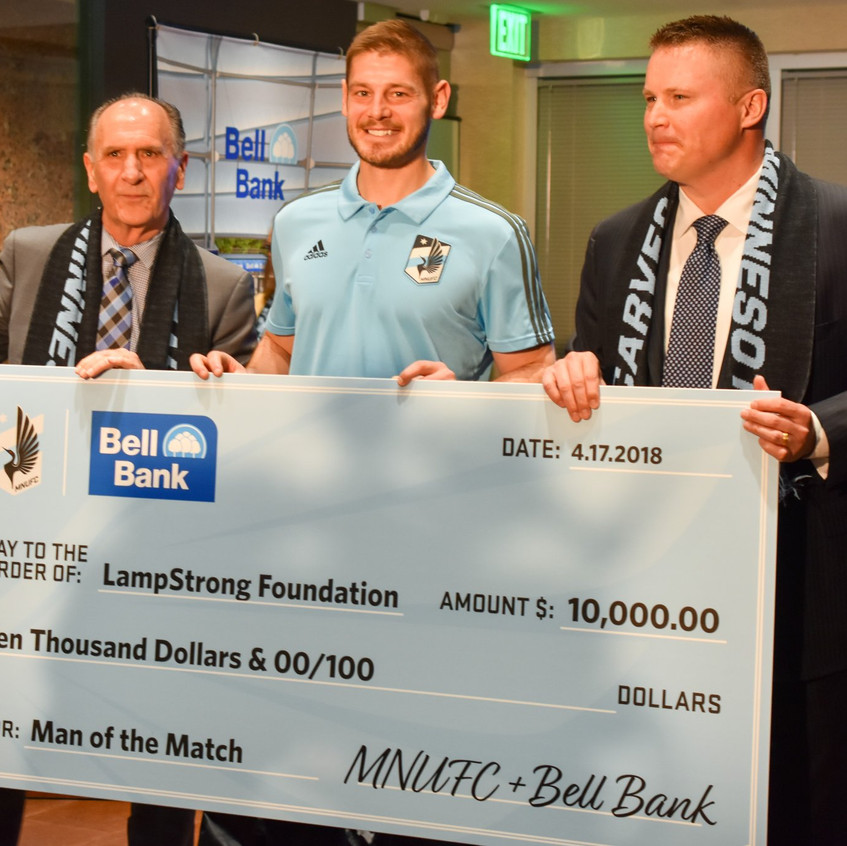 Bell Bank Donation
