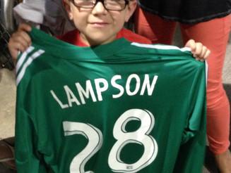 LLS Boy of the Year Meets Matt Lampson