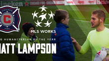 Matt Lampson named 2016 MLS Humanitarian of the Year