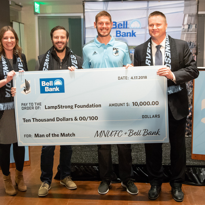 Bell Bank Donation2