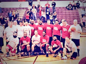 Lampson Attends Charity Game at Berne Union