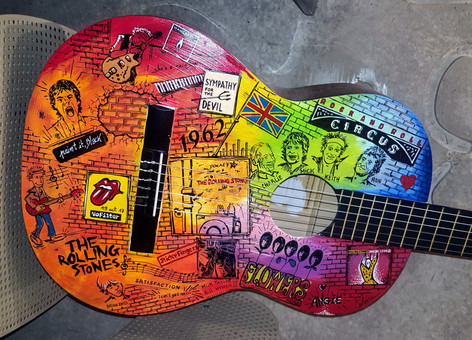 Guit'art The Rolling Stones