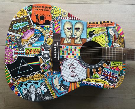 Guit'art Pascal PINK FLOYD