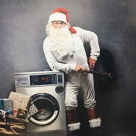 Modeln, Volker Lüdeke, Weihnachtsman, Weihnachten, Berufsbekleidung