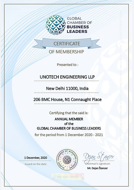 Unotech Global Chamber of Business Leade