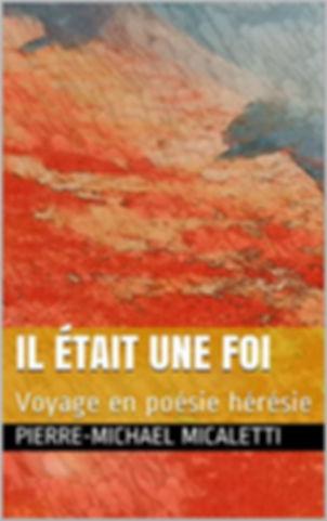 Recueil de poésie Pierre-Michael Micaletti sur Amazon