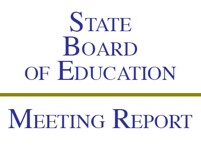January State Board of Education Meeting