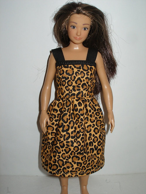 Lammily - Animal Print Dress w/straps