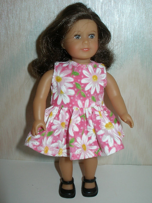 AG Mini - Pink and White Daisy Dress