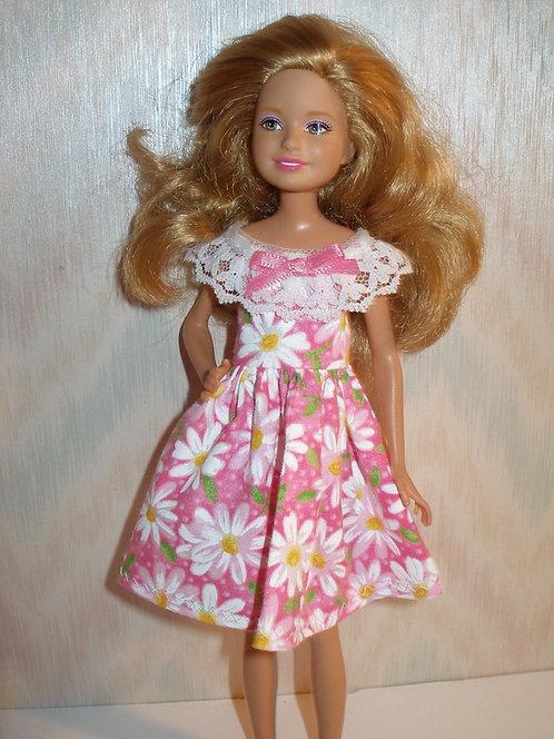 Stacie/Bratz - Pink and White Daisy Dress