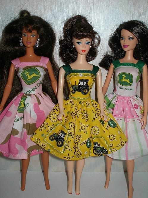 John Deere Print Dress