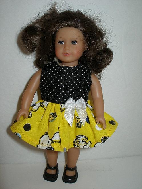 AG mini - Yellow Snoopy Dress