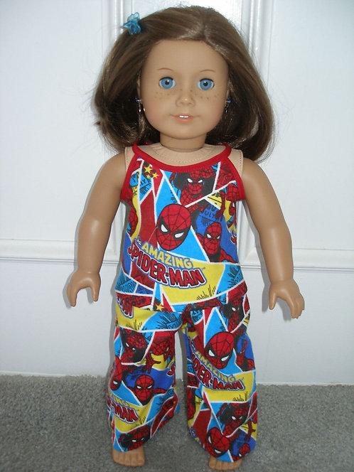 AG Spiderman Print PJ