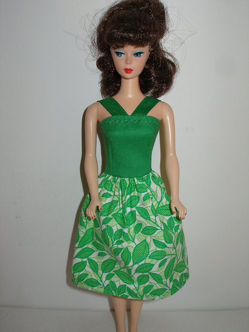 Green Leaves Dress