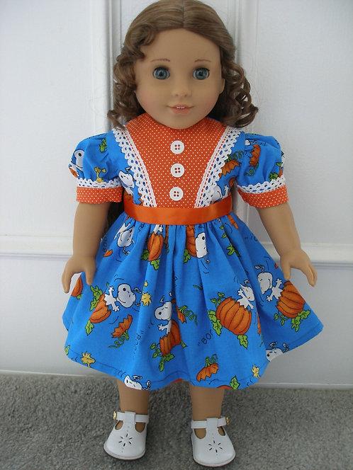 AG Snoopy Halloween Dress