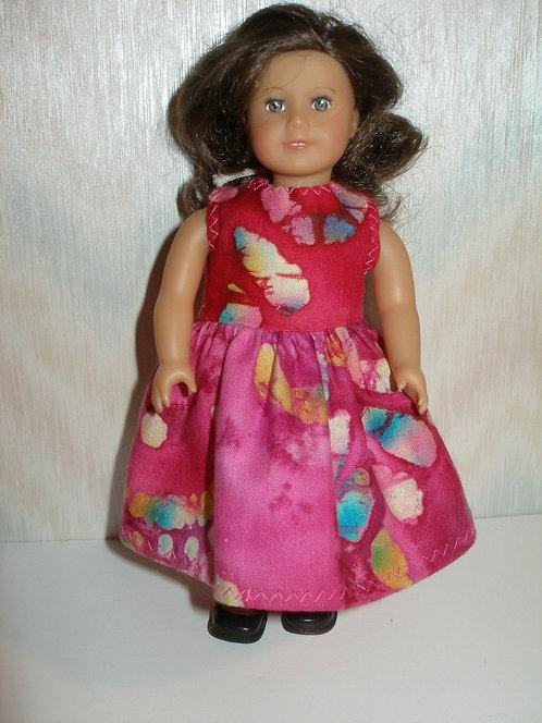 AG Mini - Pink Baltik Print Dress