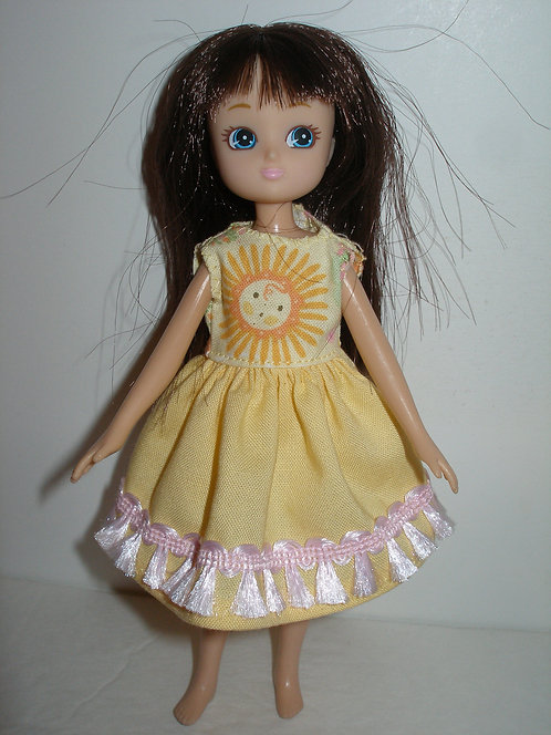 Lottie/Tutti - Yellow Sunshine Dress