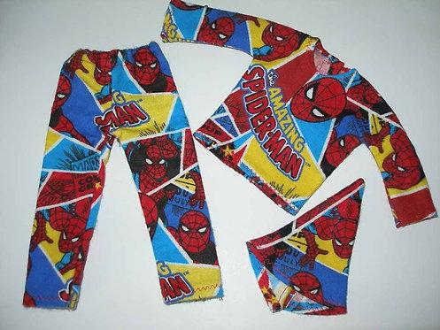 Elf Spiderman PJ's