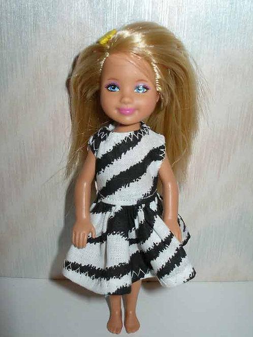 Chelsea Dress Zebra Print - more colors
