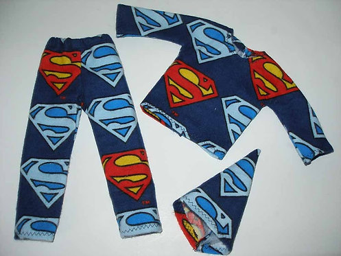 Elf Superman Outfit
