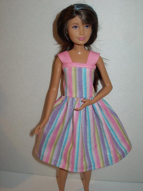 Skipper Stripe Dress  More Colors