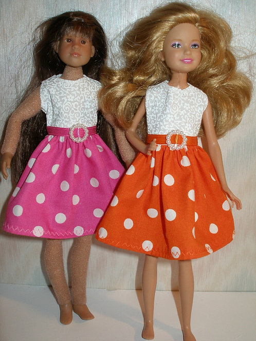Stacie /Bratz Polka Dot Skirt Dress