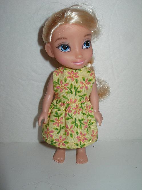 "6"" Princess - Sleeveless Dress"